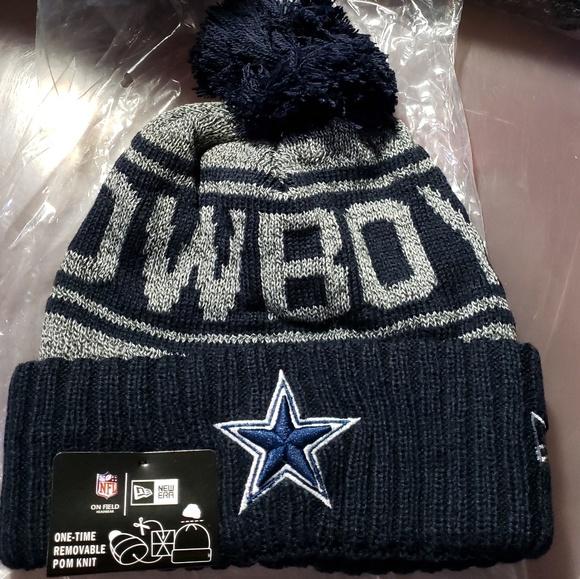 Dallas Cowboys New Era NFL beanie. NWT c5ec04bbe